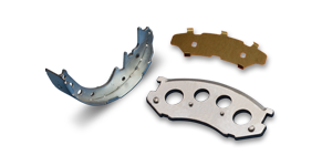 Backing Plate, Unlined Brake Shoes & Shims